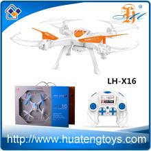 2016 El más nuevo Wifi Quadcopter HD cámara 2MP video Uav 4-Axis rc Drone
