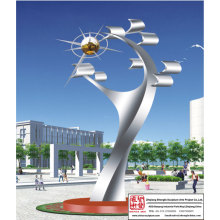 Environment-Friendly Stainless Steel Sculpture