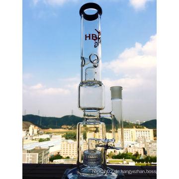 Zwei Teile Birdcage und Duschkopf Glas Wasserrohr