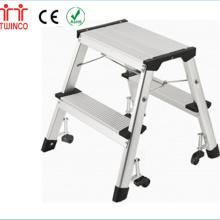 Diferentes modelos de escaleras sencillas con escalera de pie de precio promocional