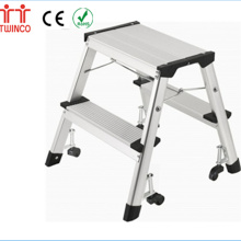 Factory Supplier Step Stool Aluminum Manufacturer with Certificate Ladders