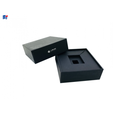 China for Electronics Set Top Paper Box Custom electronics paper packaging box export to Japan Importers