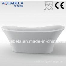 Cupc aprobado acrílico independiente cabina de ducha Jacuzzi Bañera