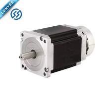 Лучшая цена 57HS шаговый двигатель nema23 мотор с тормозом