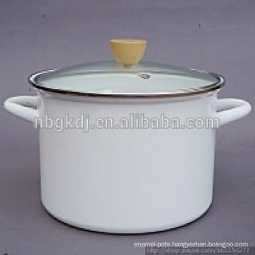 white Enamel High Soup & Stock Pots  white Enamel High Soup & Stock Pots