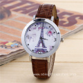 Bling Rhinestone Eiffel Towe Quartz Watch