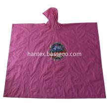 Waterproof  PVC Hooded Rain Poncho