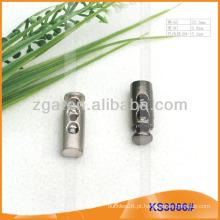 Metal stopper cabo ou alternar para vestuário, bolsas e sapatos KS3066 #