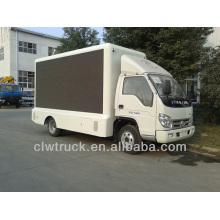 Fabrik Versorgung Foton 4 * 2 mobile Bühnenwagen zum Verkauf, LED LKW