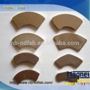 Permanent Sintered NdFeB Arc magnet