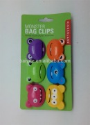 plastic monster bag clip,high quality ABS bag clip