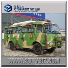 23 Sitzplätze 140HP Dongfeng 4x4 Off-Road Bus