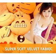 Custom Emoticon Plush Emoji Pillow