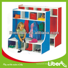 Environmental-friendly Wooden Kids Toy Cabinet with low Price LE.OT.058