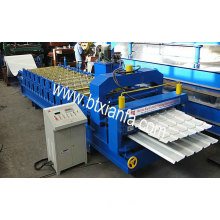 Double Deck Roofing Panel Roll Forming Machine