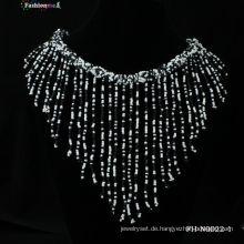 2013 handgefertigte Perlen Quaste Halskette