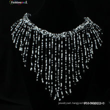 2013 handmade beaded tassel necklace