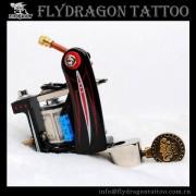 Shader e preto Fashion Design ferro fundido aço tatuagem máquina forro