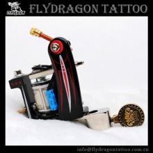 Black Fashion Design Cast Iron Steel Tattoo Machine Liner and Shader