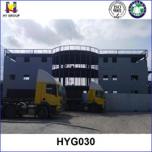 Steel structure office and hotel building prefabricated