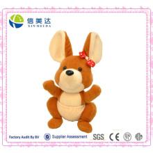 Das große Ohr Känguru Puppe Custom Tier Spielzeug