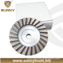Stone Grinding Polishing Diamond Cup Wheel Cup Plate