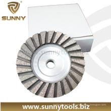 Roda de diamante de polimento de diamante de corte de concreto de pedra (SY-DCW-1000)