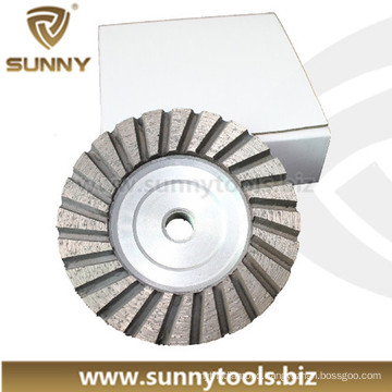 Stone Concrete Grinding Polishing Diamond Cup Wheel (SY-DCW-1000)