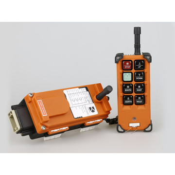 Radio remote control for tower crane