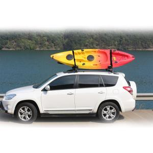 Practical aluminum kayak rack