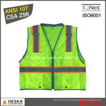 High Visibility Security Yellow Safety Vest