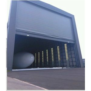 Mega Hangar Grande PVC Anti-Wind Stacking Door