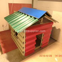 PET-MGO Anti-corosion Fireproof Roofing Sheets
