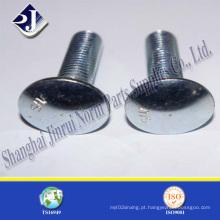 Parafuso do carro chapeado zinco (DIN603)