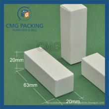 Caja de papel delgada con logotipo estampado de bálsamo