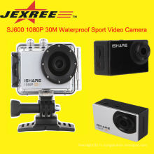 JEXREE SJ600 caméscope professionnel WiFi Action Sport Caméra 1080P caméra de voiture portable pleine hd 1080p