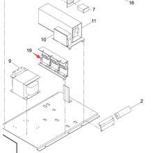 Драйвер мотора Panasonic SMT для Sp60p-М экран принтера машина (N510034769AA)