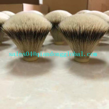 20mm فان الشكل Silvertip Badger Hair Knot