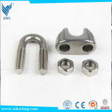 ASTM 201 stainless steel glass clamp