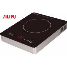 Cuiseur électrique d'induction de l'acier inoxydable 2500W de contrôle de marque internationale d'Ailipu
