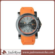 Мода мужские часы Спорт силиконовые часы