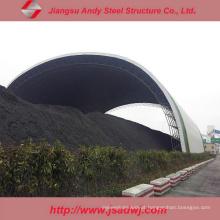 Revestimento de armazenamento de moldura de espaço de aço de baixo preço para planta de energia de carvão