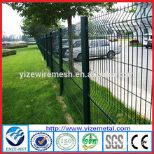 Made in China Cheap Green PVC Coated wire mesh fence/3D Mesh Fence Garden Fence(YIZE Factory)