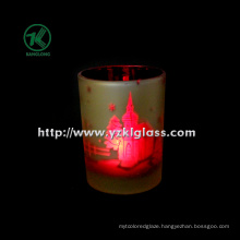 Color Double Wall Glass Candle Votive by SGS (DIA 8*10.5)