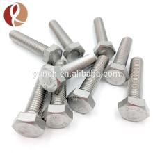 Vis de fixation de haute qualité faite sur commande de cadre, vis de titane / fabricant de fixateur en Chine