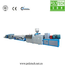 PVC/PPR/PE/PMMA pipe making machine/line
