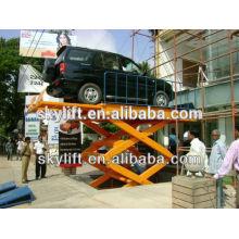 hydraulic garage car lift scissor car lift