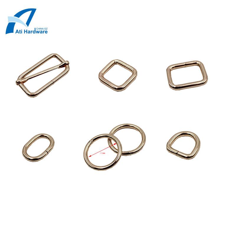 Golden buckle clip