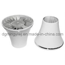 Präzise Aluminium-Legierung Guss für LED-Teile, die zugelassen ISO9001-2008 Made in Dongguan