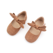 Fesyen Pink Baby Tassels Dress Shoes